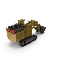 Large Shovel Boom Excavator PNG & PSD Images