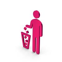 Symbol Recycle Bin Metallic PNG & PSD Images
