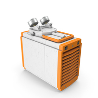 Industrial Vacuum Pump Oil Orange Used PNG & PSD Images