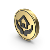 Home Insurance Safety Services Coin PNG & PSD Images