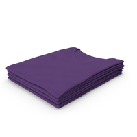 Female V Neck Folded Stacked Purple PNG & PSD Images