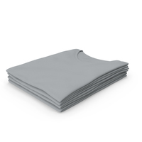 Female V Neck Folded Stacked Gray PNG & PSD Images
