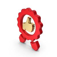 Thumps up Like Award Logo PNG & PSD Images