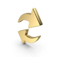 Refresh Web Online Logo Gold PNG & PSD Images