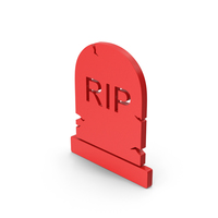Symbol Gravestone Red PNG & PSD Images
