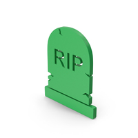 Symbol Gravestone Green PNG & PSD Images