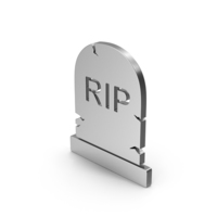 Symbol Gravestone Silver PNG & PSD Images