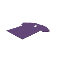 Male Crew Neck Laying With Tag Purple PNG & PSD Images