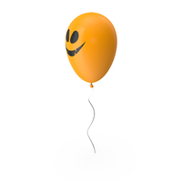 Balloon with Halloween Symbol PNG & PSD Images