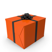 Halloween Gift Box PNG & PSD Images