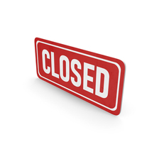 Closed PNG & PSD Images