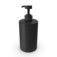 Shampoo Bottle Black 700 ml PNG & PSD Images
