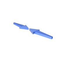Arrow Blue PNG & PSD Images