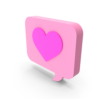 Chat Love Icon PNG & PSD Images
