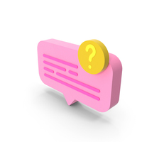 Chat Question Icon PNG & PSD Images