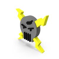 Danger Skull Icon PNG & PSD Images