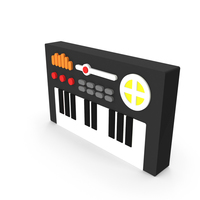 Music Keyboard Icon PNG & PSD Images