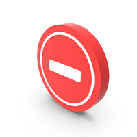 No Entry Icon PNG & PSD Images