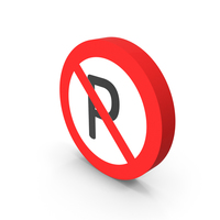 No Parking Icon PNG & PSD Images