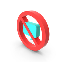 Prohibition Chat Icon PNG & PSD Images
