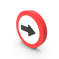 Right Way Icon PNG & PSD Images