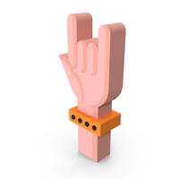 Rock Hand Icon PNG & PSD Images