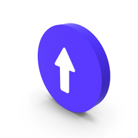 Straight Way Icon PNG & PSD Images