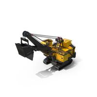 Large Mining Shovel PNG & PSD Images