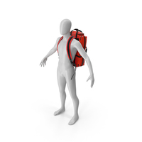 Rescue Rucksack on a Mannequin PNG & PSD Images