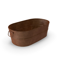 Rusty Oval Tub PNG & PSD Images