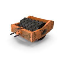 Soil Roller Barrel PNG & PSD Images