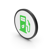Icon Eco Station Green PNG & PSD Images