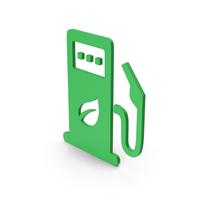 Symbol Eco Station Green PNG & PSD Images