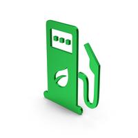 Eco Fuel Station Symbol Green PNG & PSD Images