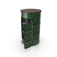 Steel Drum Locker PNG & PSD Images