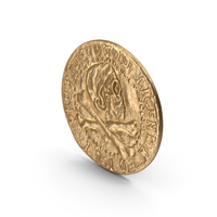 Treasure Pirate Gold Coin PNG & PSD Images