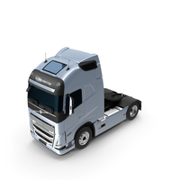 Volvo FH16 750 Globetrotter Truck Exterior Only PNG & PSD Images