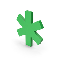 Green Asterisk PNG & PSD Images