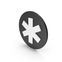 Asterisk Icon PNG & PSD Images