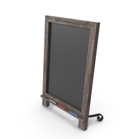 Wooden Tabletop ChalkBoard PNG & PSD Images