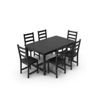 Nordviken Dining Set PNG & PSD Images