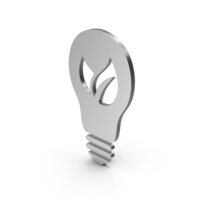 Symbol Save Energy Silver PNG & PSD Images
