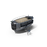 Airship Gondola PNG & PSD Images