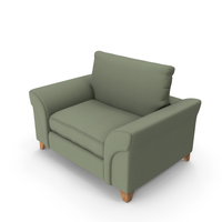 Armchair Green PNG & PSD Images