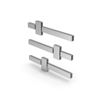 Symbol Adjustments Silver PNG & PSD Images