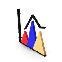 Pyramid Chart Icon PNG & PSD Images