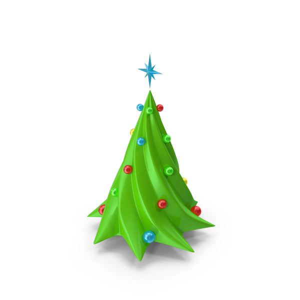 Christmas Tree With Decorations PNG & PSD Images