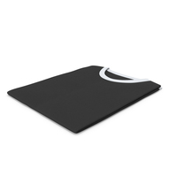 Male Crew Neck Folded White And Black PNG & PSD Images