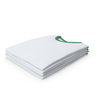 Male Crew Neck Folded Stacked White And Green PNG & PSD Images