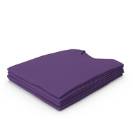 Male Crew Neck Folded Stacked Purple PNG & PSD Images